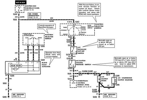 1998 A C Compressor Wiring Diagram by Expedition Pressure Switch Compressor Clutch Circut