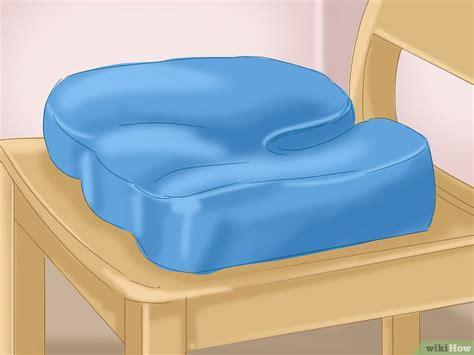 cuscino per coccigodinia come usare un cuscino per il coccige 12 passaggi