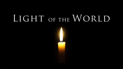 jesus light of the world a meditation