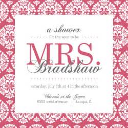Bridal Shower Invitation Templates Free