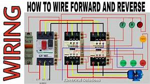 Wiring Diagram Forward And Reverse Motor 3phase