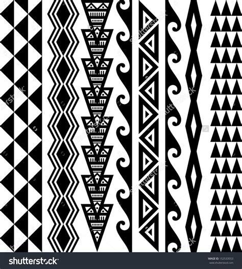 hawaiian pattern tattoos