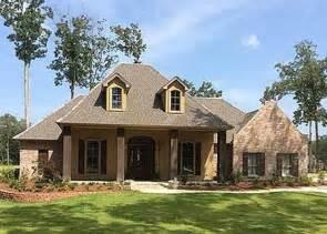 Louisiana Acadian Style House Plans