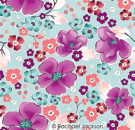 how to design prints for fabric all over pattern digital textile design and printing pinterest