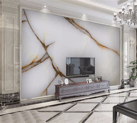 3d Wallpaper Texture For Bedroom by Luxurious Print Gold Texture Marble Wallpaper Murals 3d