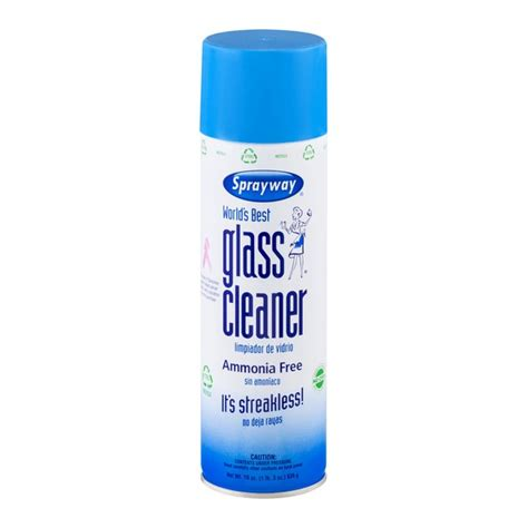 best glass cleaner sprayway world s best glass cleaner ammonia free 19 oz from costco instacart