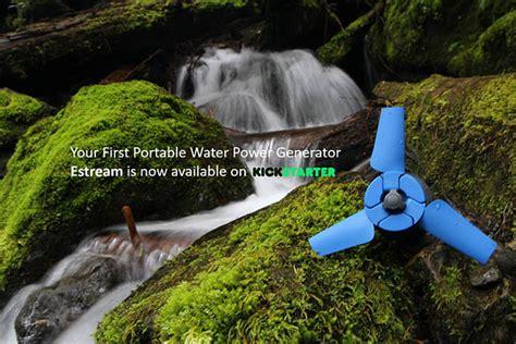 Zero Breeze Portable Air Conditioner & Estream River Turbine