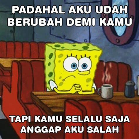 Meme Spongebob Lucu - meme meme lucu spongebob bikin ngakak yang kocak dan gokil abis vebma com