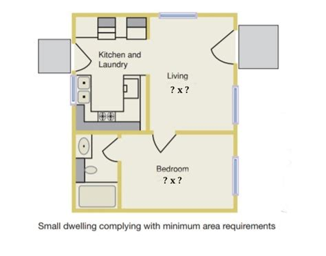 Bedroom Definition Building Code by What Is The Minimum Size For A Habitable Room Per The 2015