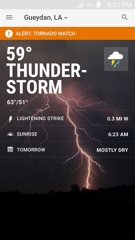 weather channel app  android    home
