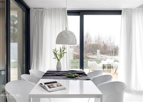 minimalist house interior  black  white decor interiorzine