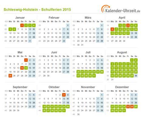 ferien schleswig holstein ferienkalender zum ausdrucken