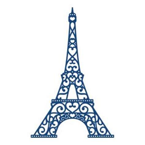 eiffel tower outline clipart