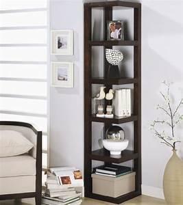 Meuble Salon Noir : astuce rangement 25 id es pour tag res et biblioth ques ~ Teatrodelosmanantiales.com Idées de Décoration