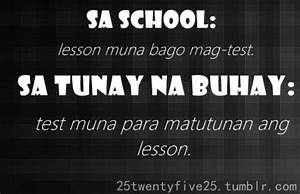 FUNNY INSPIRATIONAL QUOTES ABOUT LIFE TAGALOG image quotes ...