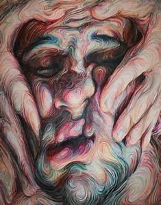 Swirling psychedelic self portraits by nikos gyftakis for Swirling psychedelic self portraits by nikos gyftakis