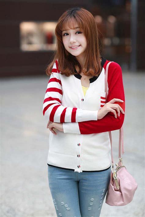 jaket wanita korea kerah  murah model terbaru jual
