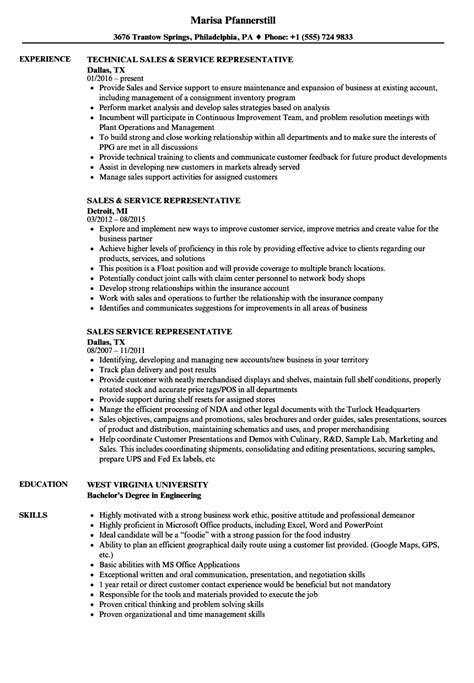 Great Resume Sles by 10 Resume Exles For Sales And Customer Service Mla Format