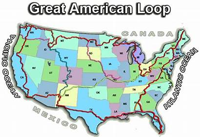 Loop American Gal Map Odyssey Nimblewill Nomad