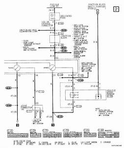 I Need The Wiring Diagram For The Instrument Cluster On A 2001 Mitsubishi Montero Sp I Need To