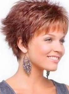 Model Coiffure Femme : coupe de cheveux courte pour femme de 50 ans ~ Medecine-chirurgie-esthetiques.com Avis de Voitures