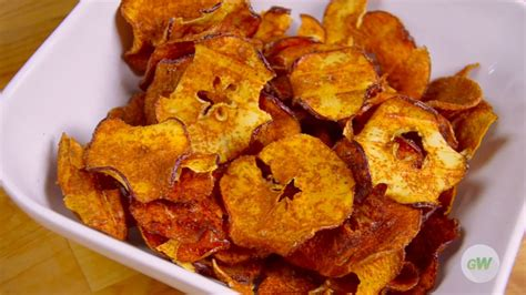 apple air chips fryer easy fried snack recipes gowise