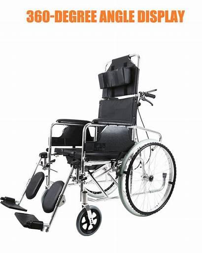 Wheelchair Adjustable Electric Disabled Backrest Lightweight Elderly