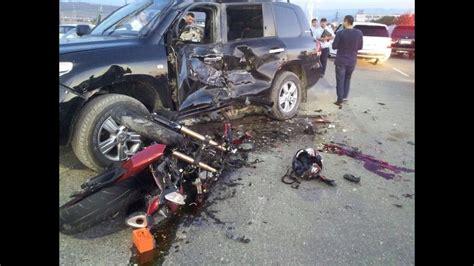 Fatal Motorcycle Crashes Part 1/Жуткие аварии на