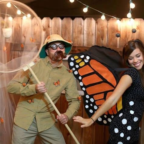 butterfly catcher butterfly couples halloween costumes