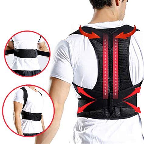 DODOING Posture Corrector for Women & Men, Mesh Breathable ...