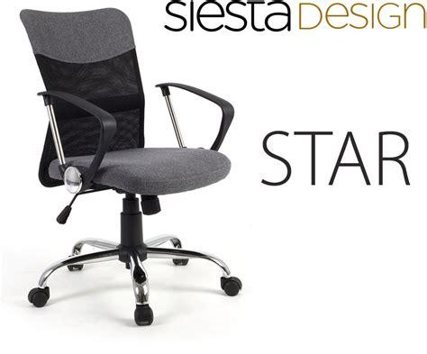 si鑒e ergonomique de bureau siège de bureau ergonomique avec support du dos tilt gris conforama