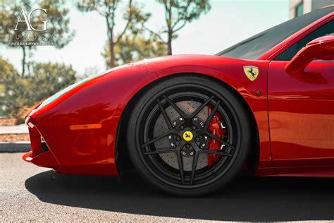 ag luxury wheels ferrari  gtb forged wheels