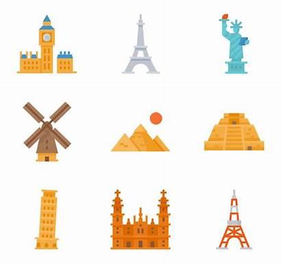Icon Landmarks Landmark Packs Icons Vector