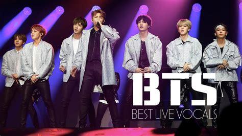Best Live Bts Best Live Vocals