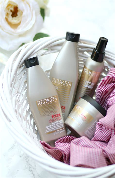 redkens  products  dry frizzy hair diary