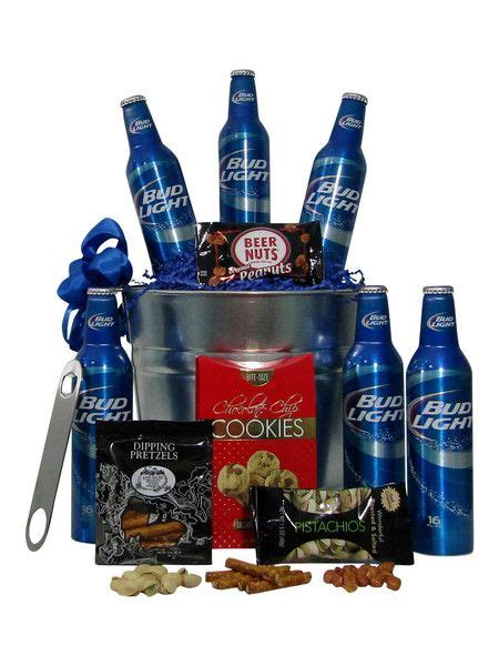 bud light gift basket bud light beer themed birthday