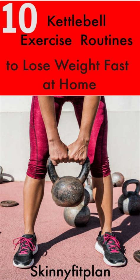 kettlebell weight exercise routines lose belly loss fat