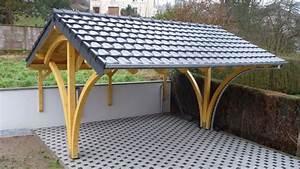 Carport 2 Voitures Bois : garage en bois ~ Dailycaller-alerts.com Idées de Décoration