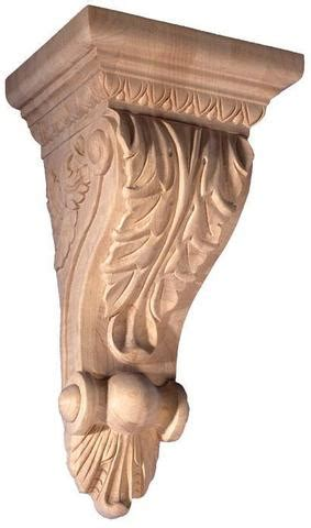 Wood Corbels Canada by Acanthus Leaf Corbel 12 1 2 Quot H X 6 3 4 Quot W X 5 1 8 Quot D