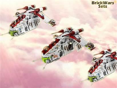 Gunship Republic Sets Lego Wars Star Brickwars