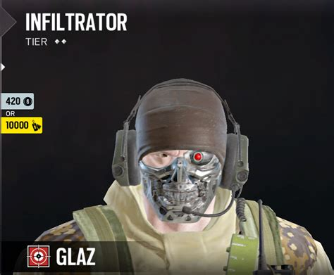 siege hello glaz headgear rainbow6