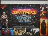 Star Trek II: The Wrath of Khan Poster (1982) - British Quad