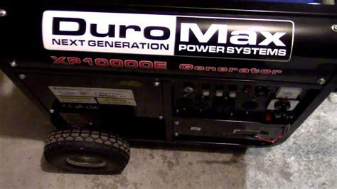 Duromax Xpe Generator Wiring Diagram Youtube