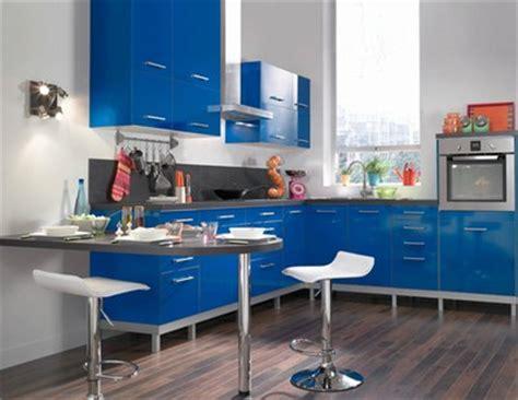 deco cuisine bleu inspiration décoration cuisine bleu