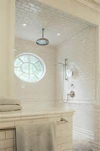 4x12 Subway Tile Daltile by Subway Tile Shower Transitional Bathroom Litchfield