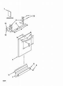 Kenmore Dishwasher Parts Manual