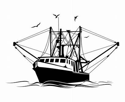 Fishing Boat Clipart Drawing Clipartmag