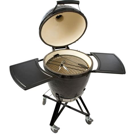 ceramic grills primo grills kamado round all in one ceramic grill and cart combo