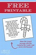 Free Printable: Legend of the Candy Cane Poem Coloring ...
