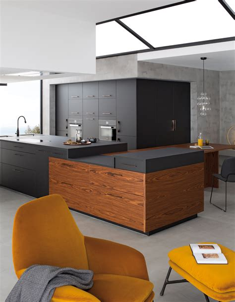 cuisine noir bois cuisine bois et noir agrandir une cuisine bois et blanc